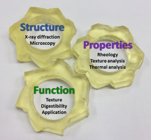The three main building-blocks of the research in the lab